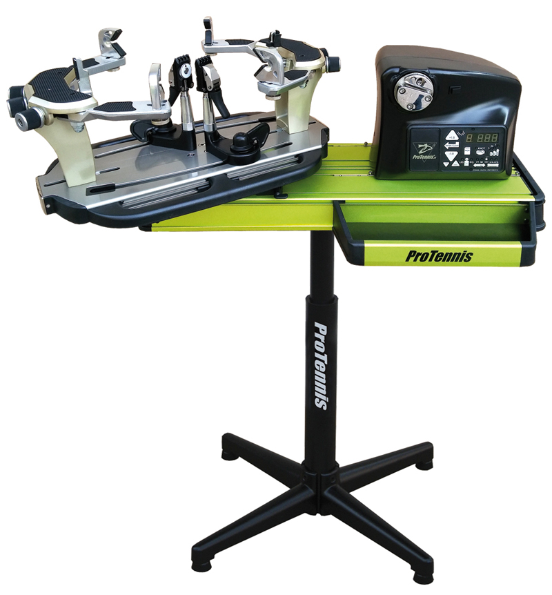 electronic stringing machine Protennis floorstand
