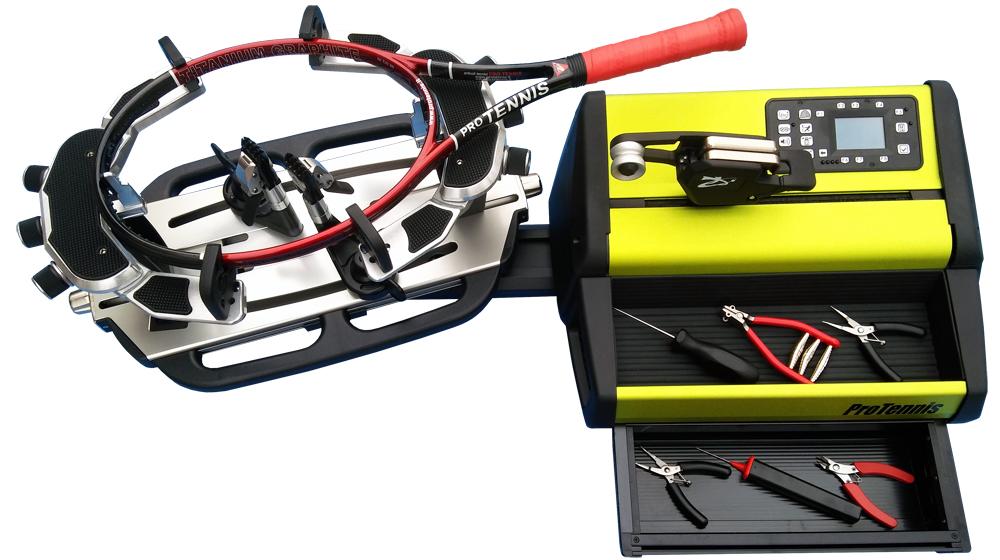 stringing machine protennis Rhapso table racket