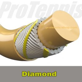 Multifilament tennis string Diamond Protennis